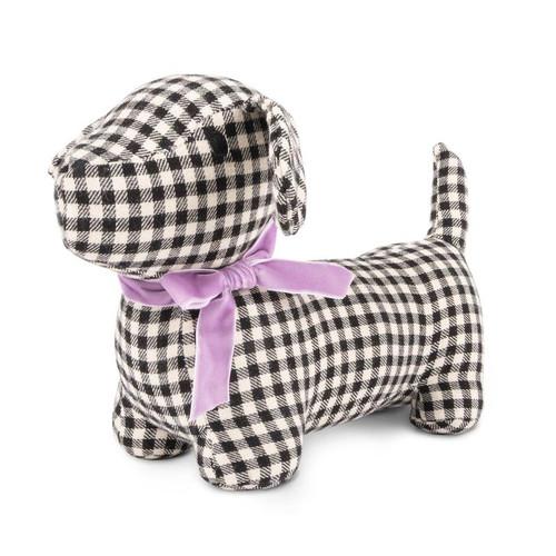 Gingham Hound Plush Dog Toy by Harry Barker