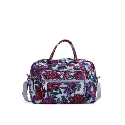 Weekender Travel Bag Neon Blooms by Vera Bradley
