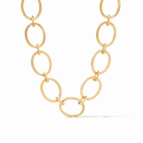 """Julie Vos Aspen 20"""" Link Necklace - Gold"""