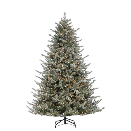Natural Cut Flocked 7.5 ft. Olympia Fir by Sterling Tree