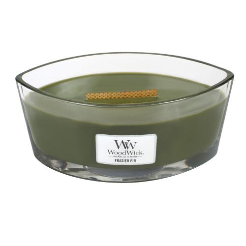 Frasier Fir WoodWick Candle 16 oz. HearthWick Flame
