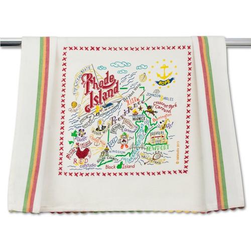 Rhode Island Dish Towel by Catstudio