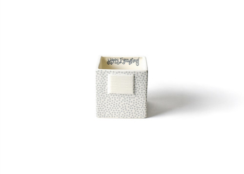 Stone Small Dot Mini Nesting Cube Small by Happy Everything!
