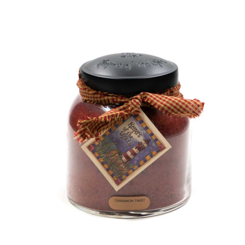 Cinnamon Twist 34 oz. Papa Jar Keeper's of the Light Candle by A Cheerful Giver