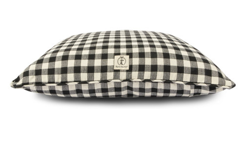 Small Black Buffalo Check Envelope Bed Cover by Harry Barker - Special Order