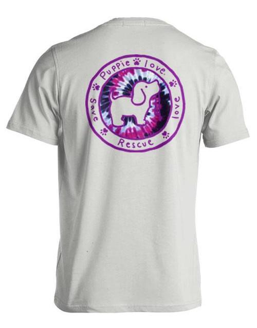 XXLarge Prairie Wine Fill Logo Pup Short Sleeve Tee by Puppie Love