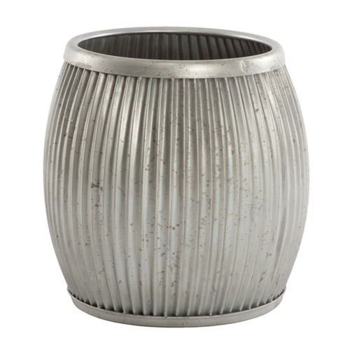 Galvanized Planter/Side Table by Aidan Gray