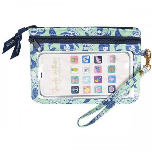 Mermaid Phone Wristlet by Simply Southern