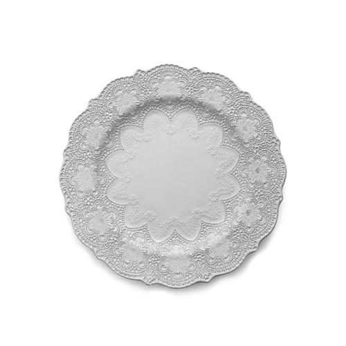 Merletto White Dinner Plate - Arte Italica