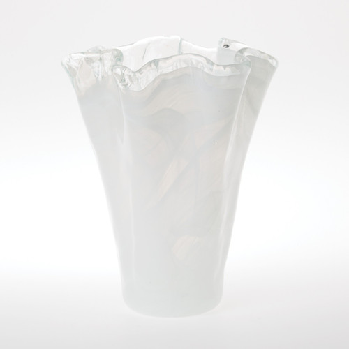 Vietri Onda Glass Medium Vase - Special Order