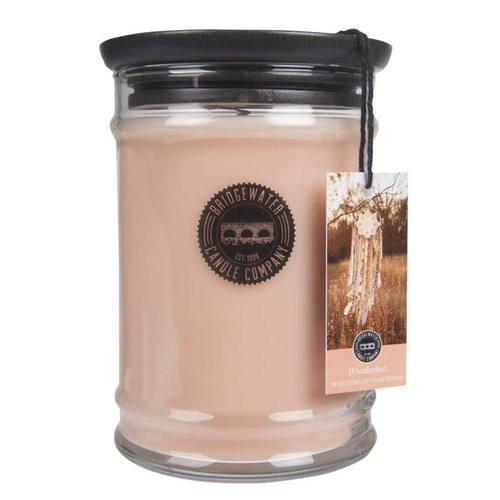 Wanderlust Large Jar Candle - Bridgewater