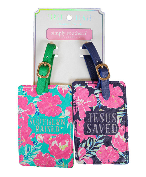 Tropic Luggage Tag by Simply Southern