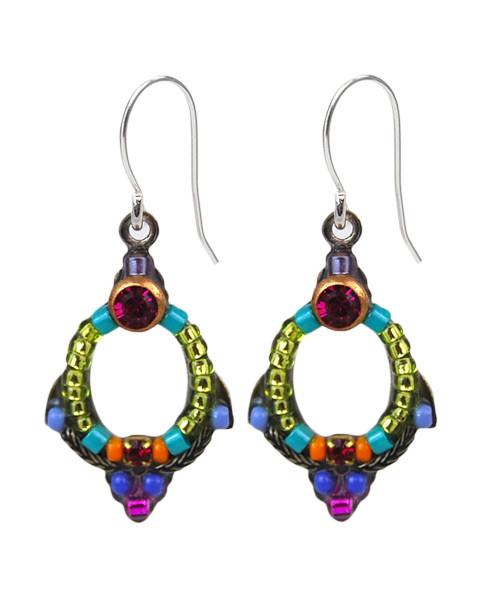 Multi-Color Petite Earring 6742 - Firefly Jewelry