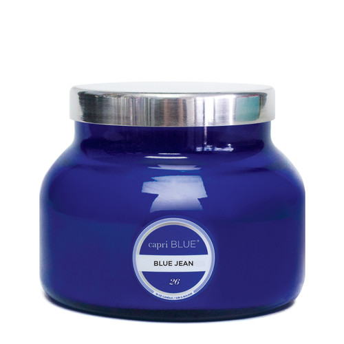 No. 26 - Blue Jean Signature Jar Candle by Capri Blue