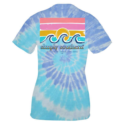 Small Tide Saltwater Short Sleeve Tee by Simply Southern