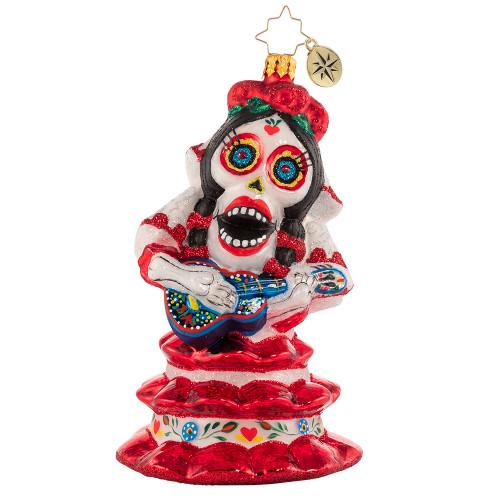 Spooky La Catrina Ornament by Christopher Radko -