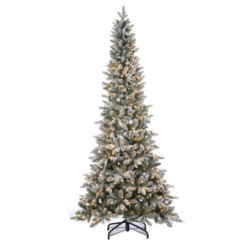 Flocked 7.5 ft. Canyon Fir by Sterling Tree