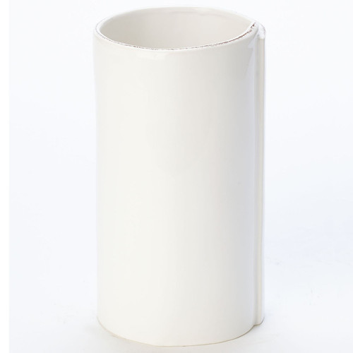 Vietri Lastra White Large Vase - Special Order