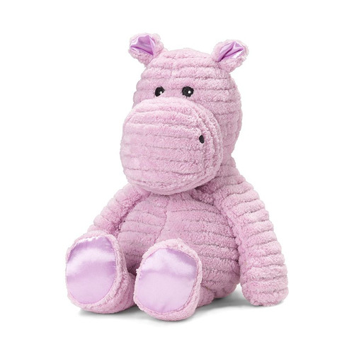 My First Warmies Heatable & Lavender Scented Hippo Stuffed Animal