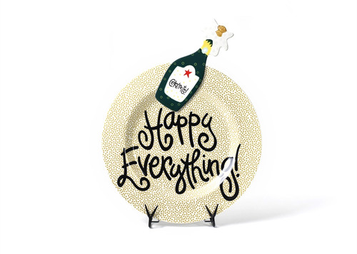Gold Small Dot Big Platter with Champagne Big Attachment by Happy Everything!