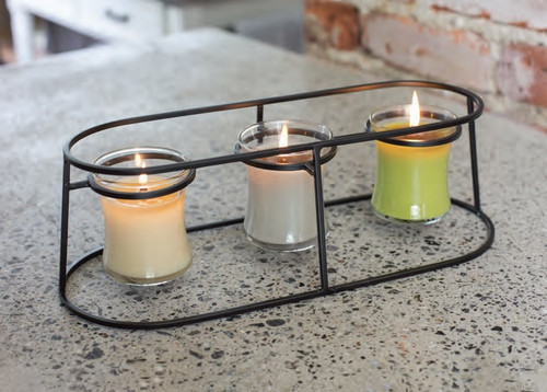 Mini Trio Modern Metal Stand by Virginia Gift Brands