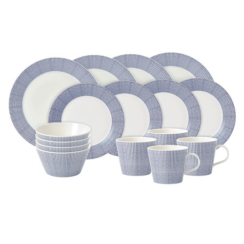 Pacific Dots 16-Piece Set by Royal Doulton - Available Sept.