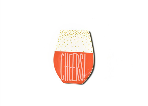 Wine Cheers Big Attachment by Happy Everything!