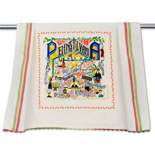 Pennsylvania Dish Towel by Catstudio