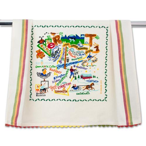 Vermont Dish Towel by Catstudio