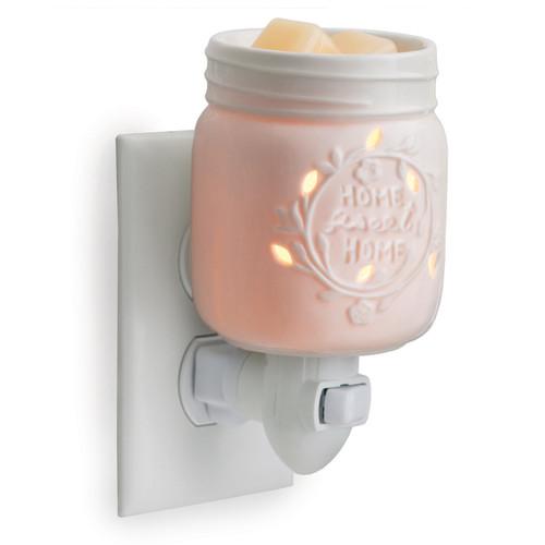 Mason Jar Porcelain Plug In Fragrance Warmer