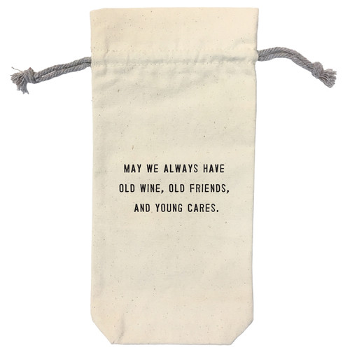 May We Always Have Wine Bag by Sugarboo Designs - Special Order