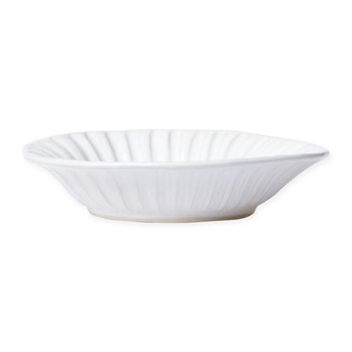 Vietri Incanto Stone White Stripe Pasta Bowl