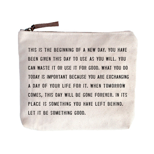 This Is The Beginning Canvas Bag by Sugarboo Designs