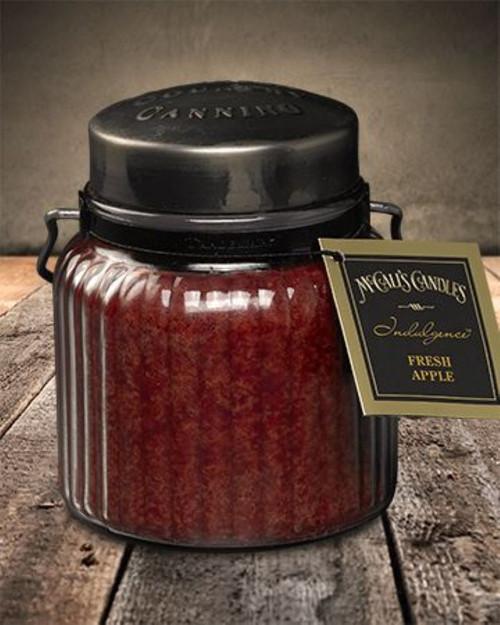 Fresh Apple 18 oz. McCall's Indulgence Jar Candle