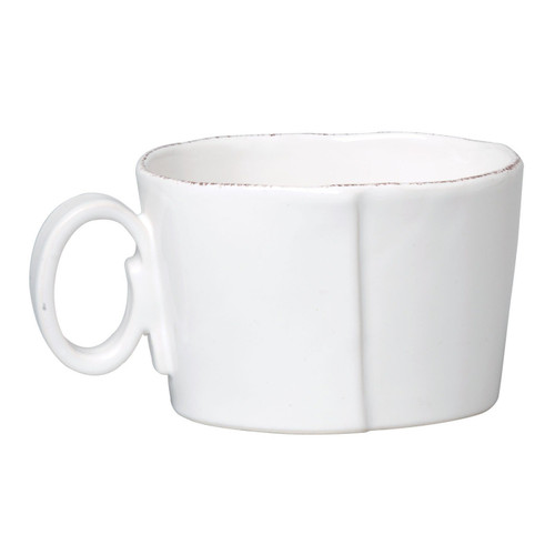 Vietri Lastra White Jumbo Cup - Special Order