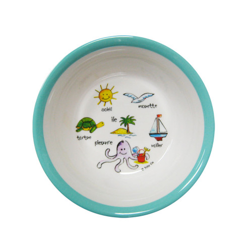 Ocean Animals Suction Bowl by Baby Cie