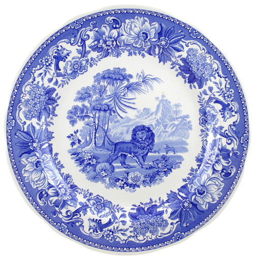 Blue Room Set of 6 Traditions Plates by Spode - Special Order