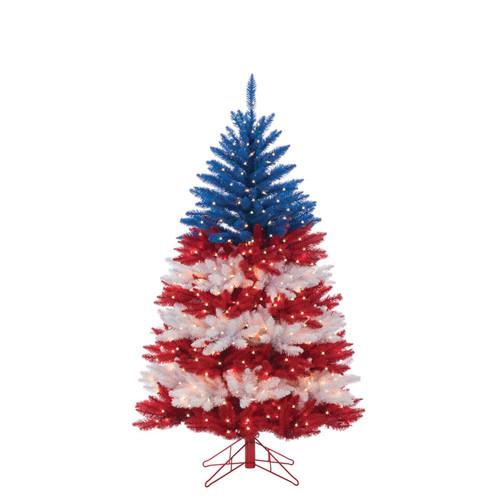 Patriotic American 5 ft. Tree by Sterling Tree