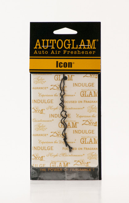 Icon Autoglam Gold on White by Tyler Candle Company