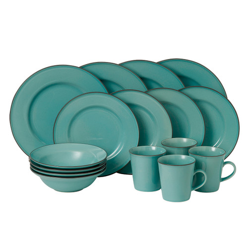 Gordon Ramsay Union Street Cafe Blue 16-Piece Set by Royal Doulton - Special Order