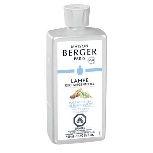 Pure White Tea 500 ml (16.9 oz.) Fragrance Lamp Oil - Lampe Berger by Maison Berger