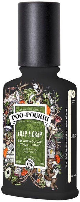 4 oz. Trap-a-crap Poo-Pourri Bathroom Spray 1