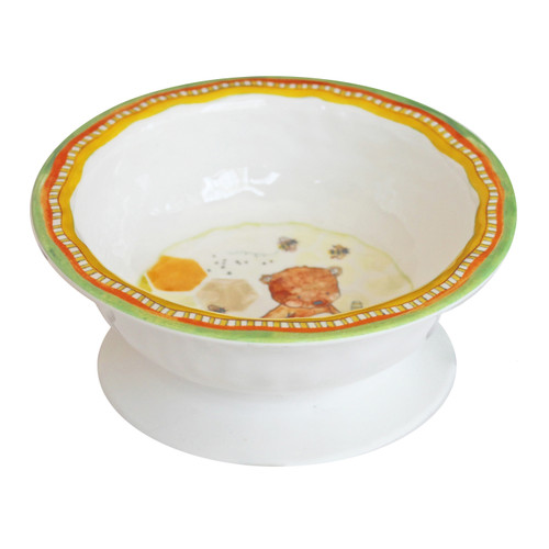 Sweet as Honey Suction Bowl by Baby Cie