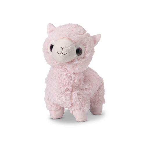 Warmies Heatable & Lavender Scented Pink Llama Stuffed Animal