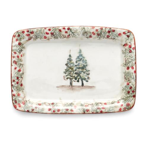 PRE-ORDER - Natale Small Tray - Arte Italica