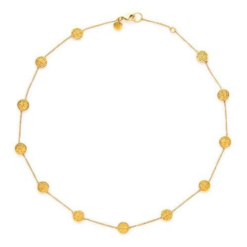 Julie Vos Valencia Delicate Station Necklace