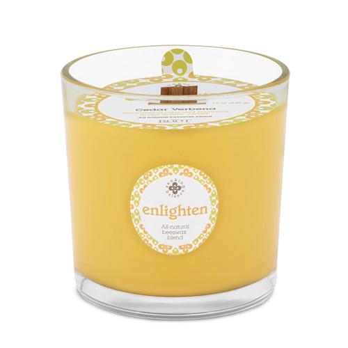 Seeking Balance 12 Oz Spa Candle Cedar Verbena Enlighten Candle