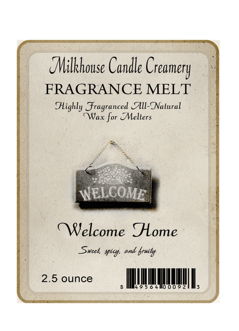 Welcome Home Fragrance Melt by Milkhouse Candle Creamery