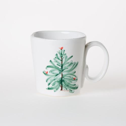 Vietri Lastra Holiday Mug - Special Order