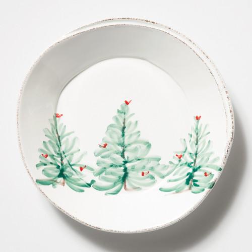 Vietri Lastra Holiday Pasta Bowl - Special Order